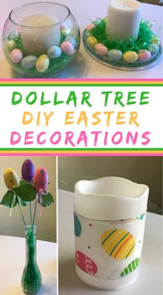 Dollar Store DIY Easter Decorations