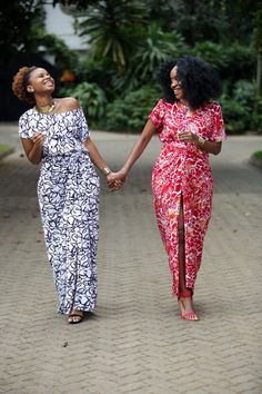 Style Sketches | Twinning: Iro and Buba | http://stylesketches.com