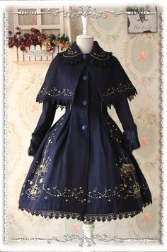 Time-limited Offer: Infanta Merry-go-round Emboridery Lolita Jacket and Cape >>> http://www.my-lolita-dress.com/infanta-merry-go-round-gold-emboridery-lolita-jacket-and-cape-inf-262 [Save $25]