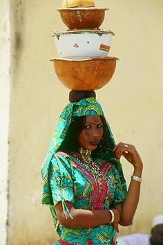Peul woman from Cameroon