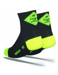 DeFeet Aireator Share the Road Socks.