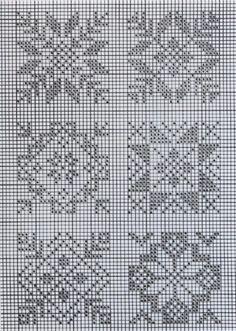 Norwegian patterns:: Could work as cross stitch or as a mock cross stitch design on paper Cross Stitch Samplers, Cross Stitch Charts, Cross Stitch Designs, Cross Stitching, Cross Stitch Embroidery, Embroidery Patterns, Cross Stitch Patterns, Filet Crochet, Crochet Cross