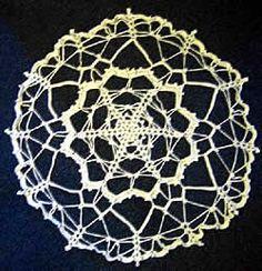 Free crochet pattern giant snowflake