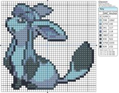 Glaceon Cross Stitch