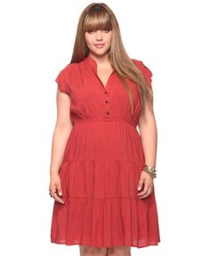 Great, simple plus-size dress from Forever 21.