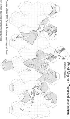 Black and white map 3d Paper Crafts, Paper Toys, Diy Paper, Diy And Crafts, Origami 3d, Origami Paper, Diy For Kids, Crafts For Kids, Paper Folding