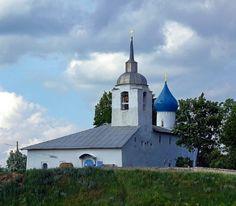 Церковь Петра и Павла на Березе. Сироткин (Серетнкин) монастырь. Псков.