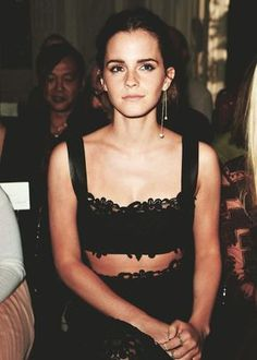 my favorite makeup look // emma watson