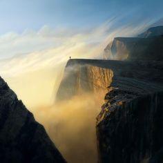 The edge of the world... - Pixdaus