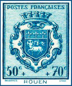 I uploaded new artwork to fineartamerica.com! - 'Rouen Stamp' - http://fineartamerica.com/featured/rouen-stamp-lanjee-chee.html via @fineartamerica