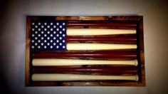 off Christmas sale Baseball Bat by ChicoLumberCompany on Etsy Baseball Display, Baseball Bats, Cute Crafts, Diy Crafts, Colton James, American Flag Decor, Thanksgiving Sale, Fireplace Mantle, Christmas Sale