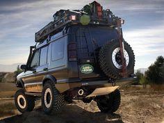 Knightsbridge Overland — fuckyeahconceptcarz:   2001 Land RoverDiscovery...