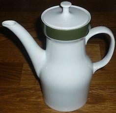 Kaffeekanne-450-ml-klein-1-2-Personen-Melitta-WIEN-Gruene-Band-Lilo-Kantner