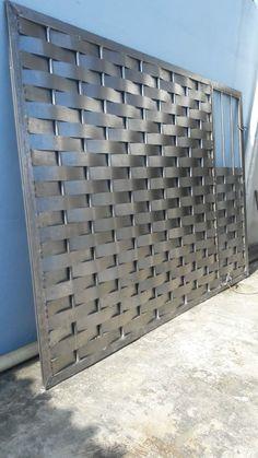 Blissful formed diy welding projects ideas Read Full Report - All About Steel Gate Design, Iron Gate Design, House Gate Design, Fence Design, Door Design, Metal Gate Designs, Welding Crafts, Diy Welding, Metal Welding