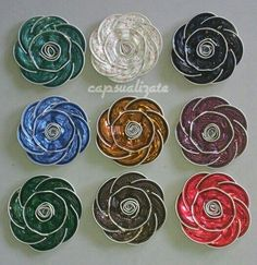 Dosette Nespresso, Tin Can Flowers, Upcycled Crafts, Homemade Christmas, Diy, Jewelry, Build Your Own, Art Crafts, Ideas