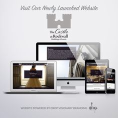 We're incredibly excited to announce the launch of phase 1 of the new @thecastleatrockwall website! What's your favorite page? #customwebsitedesign #customwebsite #weddingvenue #eventvenue #thecastleatrockwall #weloveourclients #creativespunk @wildroseevents www.thecastleatrockwall.com