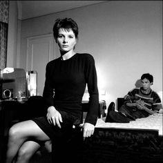Juliette Binoche and Leos Carax