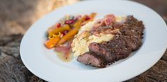 #recipe Grilled Springbok Fillet with Onion Marmalade Sauce by Team Kaiings and Afval
