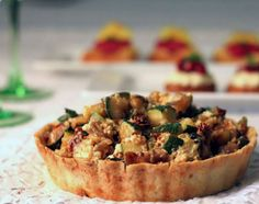 Quick  Easy Vegetarian Recipes - Roasted Vegetable Pesto Tart - Click Pic for 21 Healthy Vegetarian Recipes