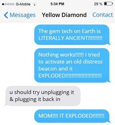 Texts Between Gems
