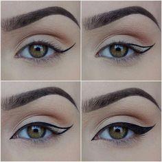 Como aplicar o eyeliner.
