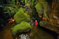 slot canyons in Australia