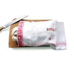 Farmer Bread Bags, drawstring top
