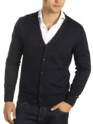 Tommy Hilfiger Cardigan with Cashmere, navy blue article no. TH-24301 € 129.00 (-38%) € 79.90