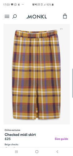 Patterned Shorts, Midi Skirt, Beige, Autumn, Skirts, Men, Fashion, Moda, Skirt