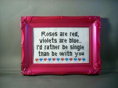 Anti Valentine Poem : Roses are red violets are by katiekutthroat