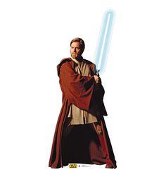 Obi-Wan Kenobi Star Wars Cardboard Cutout Standup