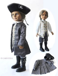 James William Boy Doll by Carpatina