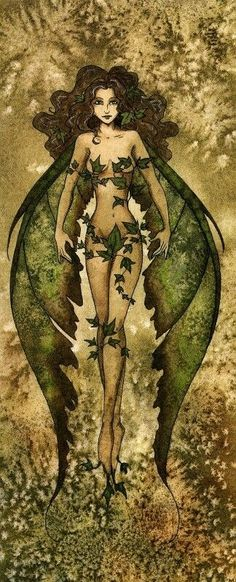 Would love my fluke to be green fading into brown tattered edges like these wings. I also love the way the wings look like the leaves in the shape and the veining. Amy Brown: Fairy Art -