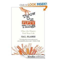Book Review: Throw Out Fifty Things by Gail Blanke #AdriansCrazyLife #Decluttering #LifeHacks