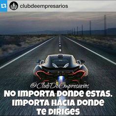 El chiste de este juego es saborear el camino apunta hacia donde quieres ir y disfruta el viaje!  Gracias @clubdeempresarios por la imagen!