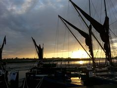 #Maldon Hythe Quay at Sunrise (posted by Maldon-town.com)