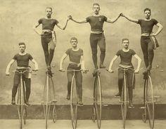 Stockholms Bicycle Klubb (1885). Tekniska museet, Public Domain marked. Source: http://europeana.eu/portal/record/91638/tekm_media_115070.html