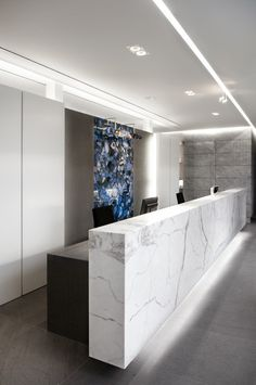 Van Den Weghe Natural Stone Showroom in Zulte Belgium by BURO II & ARCHI+I - execution by Deco-lust