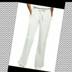 White Dickies Scrub Pants Flare Nurse White Dickies Scrub Pants, size Medium, in great condition. Smoke free home. I will gladly bundle items to give you a discount (the more you buy, the cheaper I can let everything go!). Many items can be added on for only $1. Dickies Pants Boot Cut & Flare