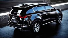 Black Kia Sportage 2017 Wallpaper