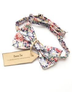 004aaa5c7dfd Mens bow tie floral, rose bow tie, floral bow tie, cotton bow tie, blush  rose print