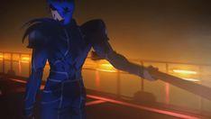 gif of Cú Chulainn from the first(?) Fate/ Stay night Heaven's Feel movie, gi. Fate Characters, Black Anime Characters, Fantasy Characters, Fate Zero Kiritsugu, I Origins, Manga, Archer Emiya, Fate Stay Night Anime, Night Gif