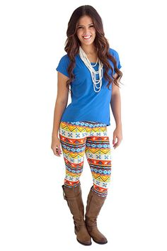 Leggings- So Soft Southwest These adorable printed leggings are so cute! They're perfect for fall and oh so comfy!