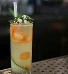 PHOTO: Max Reis, the beverage director at West Hollywoods Gracias Madre restaurant shared this recipe for his yuzu, kumquat and chamomile tea mocktail with Good Morning America.