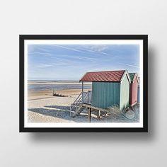 Coastal landscape Photographic Print Norfolk by SaltmarshSamphire