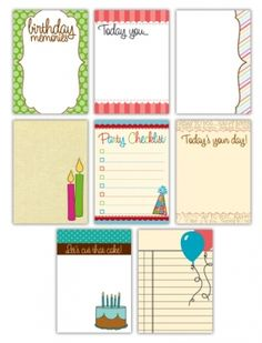 Project Life Printables for Purchase