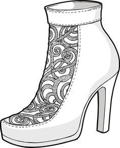 Luxurious embroidery shoes / nani coldine in Zusammenarbeit mit DMI