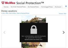 McAfee apresenta aplicação para evitar o roubo de fotografias no Facebook
