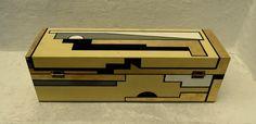 CAJA DECO madera 39x12x12 (laqueada).