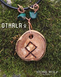 Rune necklace ~honey locust, wood slice, runes, viking, norse, futhark, pyrography, OOAK by StoneWolfRanch on Etsy https://www.etsy.com/listing/555710732/rune-necklace-honey-locust-wood-slice